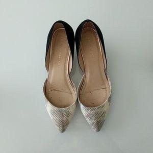 Loeffler Randall suede heels